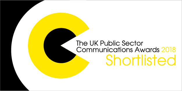 2018 Public sector website of the year nominee