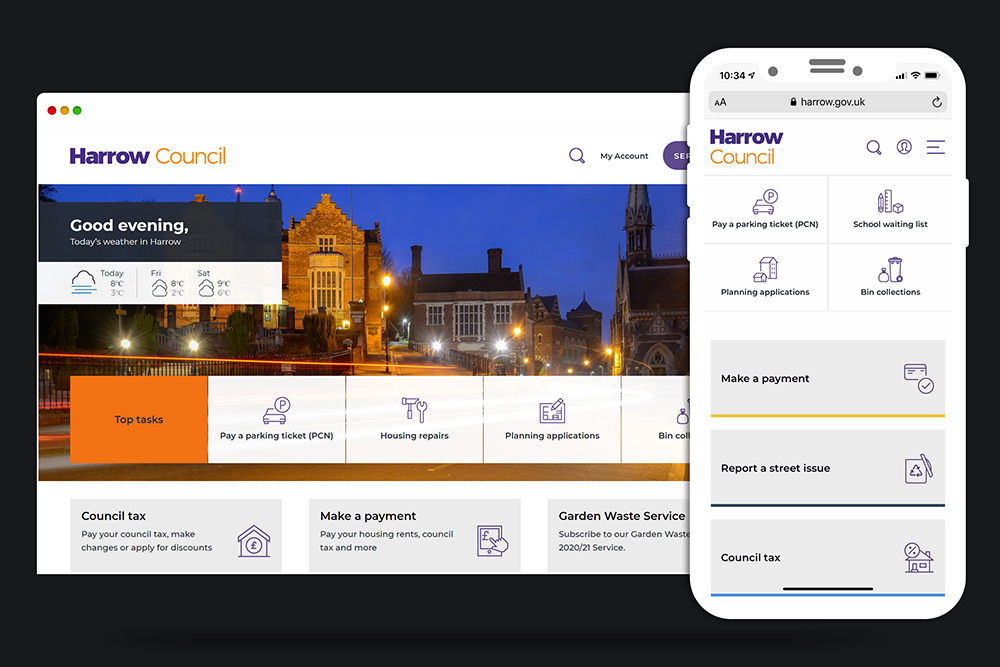harrow council website