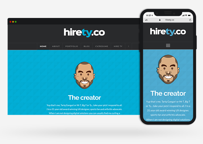 hirety web design